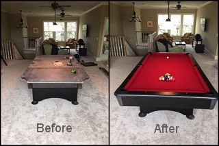 expert billiard table repair in Hendersonville content img2